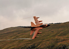 Mach Loop Tornado GR4 Desert Pink(Pinky) (sab89) Tags: mach loop low fly area 7 flying aircraft jets aviation panavia pinky gr4 fighter raf lossiemouth xv r squadron tornado zg759 25th annversary special pink desert operations gulfwar bwlch groes bach llyn pass a487 cadair idris royal air force best shot wales gwynedd jet plane