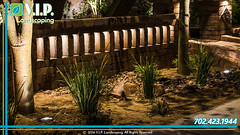 068 (V.I.P. Landscaping of Las Vegas) Tags: retainingwalls landscapelighting moonlighting