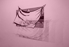 Neil Dawson's Whiteout (Steve Taylor (Photography)) Tags: neildawson whiteout steel pink art sculpture picture monocolor monocolour monotone newzealand nz southisland canterbury christchurch city gallery