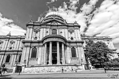 Saint Paul's Cathedral (D. Lorente) Tags: dlorente iglesia catedral cathedral city bn bw nikon london paseando