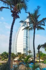 Palms (Sidneiensis) Tags: dubai burjalarab architecture