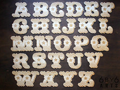 Circus Font Wooden Craft Letters (thea superstarr) Tags: wooden circus font circusfont wood craft letters alphabet 6by6arts etsy handmade laser cut laserengraved