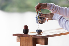 Pouring tea (Mangpink) Tags: tea cup green black pour hot pot background white drink closeup liquid calm brown breakfast teapot refreshment health food glass isolated chinese beverage mug healthy fresh water relaxation freshness morning hands hand
