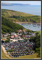 Crowded parking (albelev69) Tags: dorset england lulworth cove summer crowded cars parking
