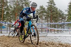 Conquering the Sandpit (olamorken) Tags: canon 1dx bikerider cyclocross cxracing specialized sidi skf diadora 01 cx snow skien