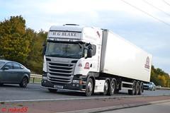 Scania R490 'H.G. Blake (Costessey) Ltd' reg KM15 EZO (erfmike51) Tags: artic truck fridgetrailer euro6 lorry hgblakecostesseyltd scaniar490