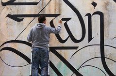 Life / Action Shot (Simon Silaidis - UrbanCalligraphy) Tags: urbancalligraphy simonsilaidis calligraphy streetcalligraphy streetart handletters handstyle letters lettering typography abandoned life zoi art brush calligraphybrush calligraphybrushes