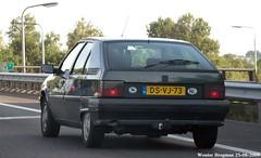 Citron BX TZD Turbo D12 1992 (XBXG) Tags: dsvj73 citron bx tzd turbo d12 1992 citronbx td diesel a32 nijeveen drenthe nederland holland netherlands paysbas old classic french car auto automobile voiture ancienne franaise france frankrijk outdoor vehicle