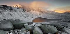 Lochnagar - Grampians - Scotland (Bill Higham) Tags: landscape dawn sunrise loch scotland lochnagar ballater snow winter reflection mountain uk rocks corrie lochan gaire