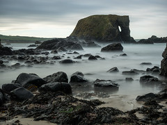 Elephant Rock Dec 2016 (frcrossnacreevy) Tags: 2016 ballintoy causewaycoast december elephantrock landscape longexposure northernireland olympusem1 olympusmzuiko1240mmf28 places subject superstopper