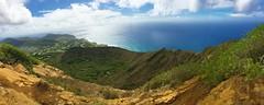 view (peakintheclouds) Tags: view breathtaking hike trail kokohead kokoheadcrater honolulu oahu hawaii outside workout freshair ocean mountains