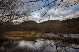 Clarks Pond from Wilderness