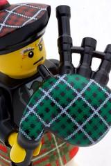 Lego Bagpiper (p_a_h) Tags: lego bagpiper