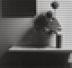 mapplethorpe (William Keckler) Tags: gay blackandwhite white black lego malenudes mapplethorpe legos queer pixels malenude mutation interpretation absence robertmapplethorpe gaymale gaynude legoart homoart gaynudes gaymales legophotograph removingdetail