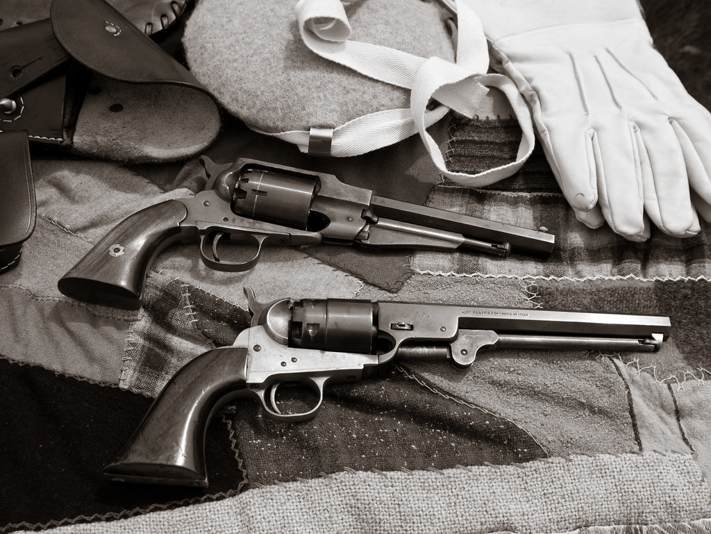 Colt and Remington Style PIstols, by Reed A. George