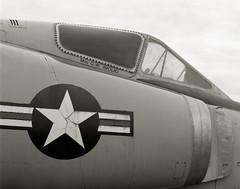 Major Avolio, Oregon (austin granger) Tags: film oregon star war fighter military jet cockpit airforce largeformat convair mcminnville deardorff f102 austingranger majoravolio
