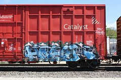 Hoser (quiet-silence) Tags: railroad art train graffiti railcar boxcar graff freight hoser sry nwk bhg fr8 sry9438