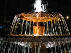 "Canon G1X - Photos de nuit - ""Eau lumineuse"" - Night shots - ""Light Water"" 2/4 (blueman12) Tags: light church water night canon eau quebec powershot nuit eglise g1x lumere"
