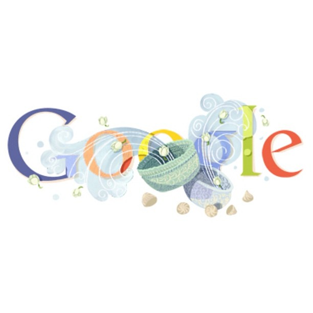 "#Google #logo #SONGKRANday on 13-15 #April . #SONGKRAN #festival is #Thailand #newyear . We have long #vacation and too #funny . You can seach ""SONGKRAN"" in google."
