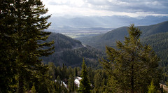 God's Country (laura's POV) Tags: road trees sky mountains nature forest jackson valley vista wyoming tetonpass lauraspointofview lauraspov