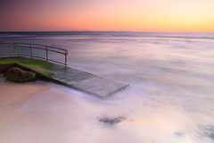 Mettams Pool (c e d w i n) Tags: longexposure sunset sea beach canon landscape moving waves north australia perth northbeach 7d wa westernaustralia mettamspool