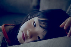 Sleepy face (Cozy66) Tags: portrait girl japan japanese child pentax  k5