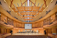 UMD, Weber Music Hall   Duluth, MN   Design Architect: Cesar Pelli; Architect of Record: TKDA (Pete Sieger) Tags: cesarpelli duluth minnesota pelliclarkpelli umd usa universityofminnesota webermusichall cultural educational interior music peterjsieger sieger tkda
