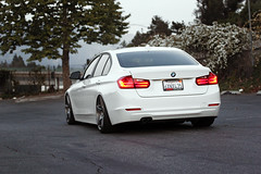 m4 (InGhostColours) Tags: white cars gm wheels evolution alpine bmw cks 19 aw vmr gunmetal coilovers 3series p3 328i v705 tiltmode43 racewerks f30post