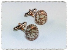 Swirly Cloud cufflinks