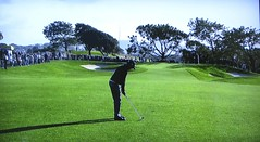 Torrey Pines GC (South), Hole #2 - Erik Compton (rbglasson) Tags: california golf landscape tv torreypines lajolla canons5is