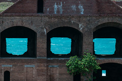 Fort Jefferson Windows (2013) Fort Jefferson, Dry Tortugas National Park, Florida (jpaton1963) Tags: nationalpark fortjefferson drytortugas parquenacional gardenkey geocity exif:iso_speed=200 exif:focal_length=300mm camera:make=nikoncorporation camera:model=nikond300 exif:make=nikoncorporation geostate geocountrys exif:model=nikond300 exif:lens=3000mmf28 exif:aperture=11 geo:lat=24627851666667 geo:lon=82872635