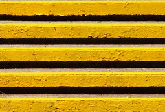 Five Lines (photohuszar) Tags: lines yellow graphics bright five steps wallart photohuszar