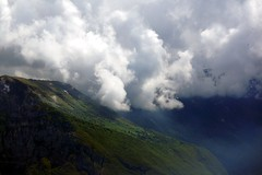 Clouds around Monte Baldo (WeatherMaker) Tags: italien italy mountains alps hiking alpen nara trentino cima bal lagodigarda gardasee pregasina