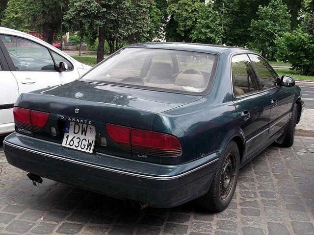 1992 mitsubishi diamante