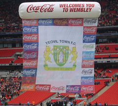Welcome to Wembley (lcfcian1) Tags: club 1 town football play cola off final coca blackpool league yeovil wembley wembleystadium playofffinal yeoviltown blackpoolfc playofffinal2007 blackpoolwembley blackpoolvyeoviltown blackpoolvyeoviltownplayoff yeoviltownwembley blackpoolvyeoviltown2007