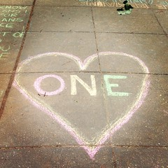 one love (ekelly80) Tags: streetart love circle one washingtondc chalk dc drawing dcist dupontcircle onelove welovedc may2013