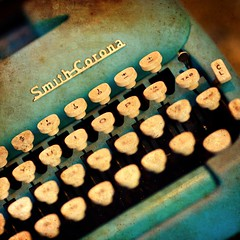Smith Corona (Thomas Hawk) Tags: sanfrancisco blue typewriter fav50 anthropologie smithcorona fav10 fav25
