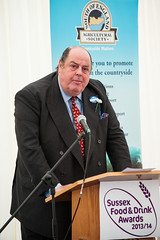 Thursday 6th June 2013 South of England Show opens at Ardingly, West Sussex, UK (Brighton Visitor) Tags: uk brighton westsussex mp launch eastsussex ardingly southofenglandshow nicholassoames sussexfoodanddrinkawards