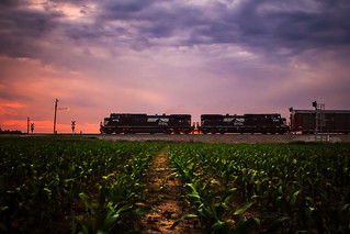 Norfolk Southern 179 at Sunset