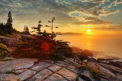 Acadia National Park, Maine (Greg from Maine) Tags: fog sunrise foggy july4 barharbormaine acadia barharbor mountdesertisland mdi acadianationalpark rockycoast foggysunrise bestcapturesaoi universeofphotography