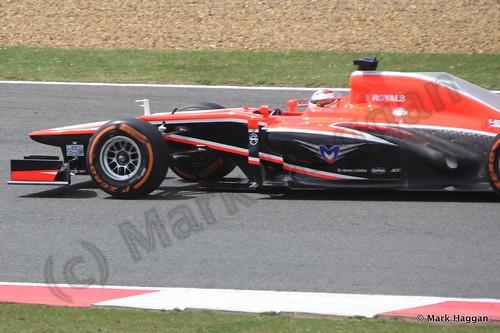 Jules Bianchi in the 2013 British Grand Prix