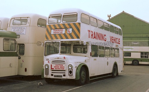 Blackpool Corporation 520 HFR 520E