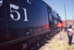 Santa Fe #3751 Employee Recognition Special (Santa Fe Way) Tags: santafe yard train railway steam passenger baldwin barstow atsf 3751 sbrhs