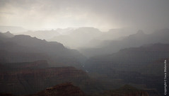 U.S.A. - Grand Canyon: Rain (Luca Malavolta) Tags: usa fujifilm hs10