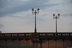 Dax les candlabres (lydielarrode) Tags: pont dax candlabre