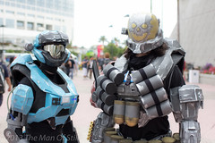 Halo Reach (The Man Of Stills) Tags: costume san comic cosplay halo diego tags convention reach cosplayer comiccon bungie comicon con masterchief spartan mech cosplayers sdcc exo 2013 sdcc2013