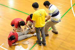 2013-08-02 18.22.07 (pang yu liu) Tags: sport yahoo y exercise contest competition final aug badminton engineer tw 08       2013