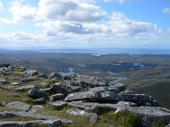 View North West from Quinag