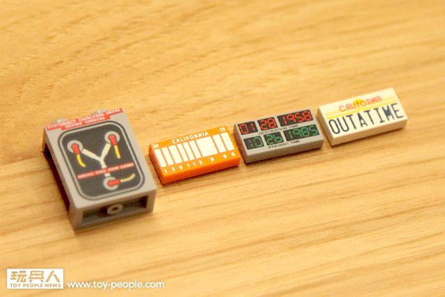 LEGO 21103 回到未來:時光車 開箱報告