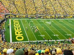 Oregon Ducks vs. Tennessee Volunteers - 2013 (Marc Osborn) Tags: college oregon football stadium crowd ducks eugene